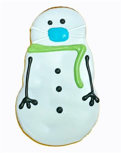 2020 Covid Snowman