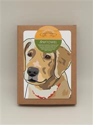 TeaTowel: Golden R. Pup