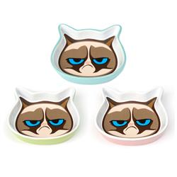 "Mildly Amused Grumpy Cat® 5""Shallow Saucer Collection"