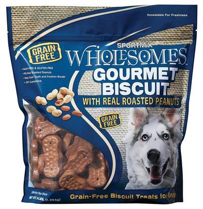 Wholesomes Sport Mix Groumet Dog Treats 3 lbs