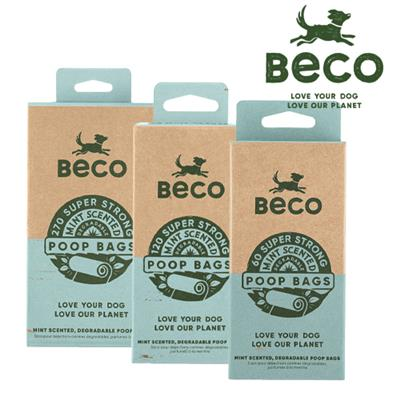 BECO - Poop Bags Fresh Light Mint Scented