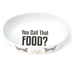 "You Call That Food Grumpy Cat® 5"" Bowl, White, 2 Cups"