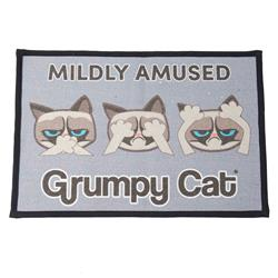 Mildly Amused Grumpy Cat® Tapestry Placemat, Non-Slip