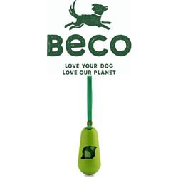 BECO Recycled Bamboo Pod Poop Bag Dispenser Green - Eco-Friendly