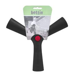 Bettie Fetch Toy Barkin Black (Small)