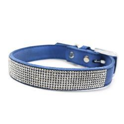VIP Bling Collar Blue