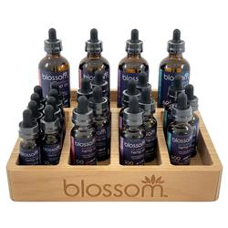 Blossom Full Spectrum Hemp Oil Counter Top POP Display