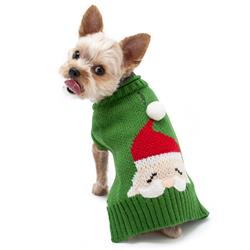 Santa Face Sweater