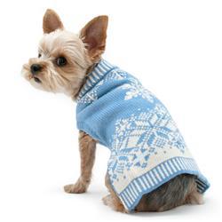 Shiny Snow Flake Sweater