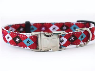 Mad Mutts Collar Rose Gold Metal Buckles