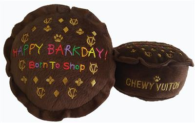 """Chewy Vuiton """"Happy Barkday Cake"""""""
