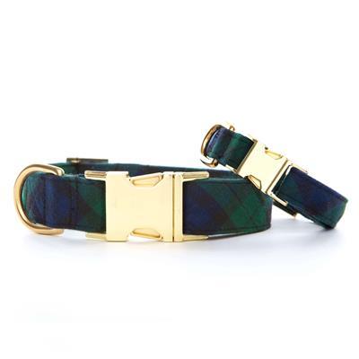 Blackwatch Plaid Dog Collar