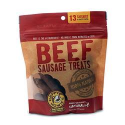 "Happy Howie Dog Beef Sausage Bakers Dozen 4"" 8OZ"