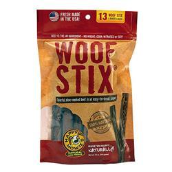"""Happy Howie Dog Beef WOOF STIX Bakers Dozen 6"""""""