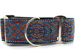 Kashmir Egyptian Sunset Martingale Dog Collar