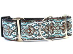Kashmir Corfu Sky Martingale Dog Collar