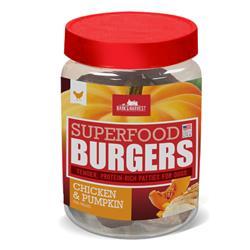 Superfood Burgers: Chicken & Pumpkin Burger Jar Kit