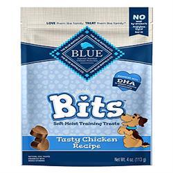 BLUE BUFFALO DOG BITS CHICKEN 4 OZ.