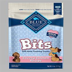 BLUE BUFFALO DOG BITS SALMON 4 OZ.