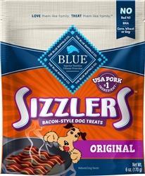 BLUE BUFFALO DOG SIZZLERS PORK 6 OZ.