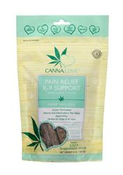CANNALOVE PAIN RELIEF K-9 SUPPLEMENT STICKS HEMP INFUSED DOG TREAT 8OZ