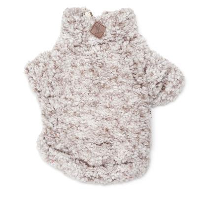 Wubby Fleece 1/4 Zip Pullover Ivory