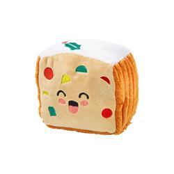 Holly Jolly Fruitcake Dog Toy