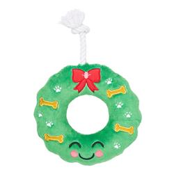 Howliday Wreath Dog Toy