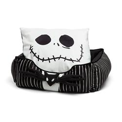 Disney™ Jack Stripe Rectangular Cuddler Bed
