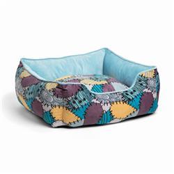 Disney™ Sally Patchwork Rectangular Cuddler Bed