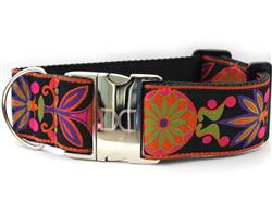 Venice Ink Extra Wide Dog Collar