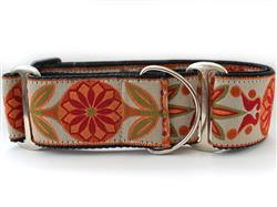 Venice Ivory Martingale Dog Collar