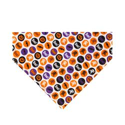 Boo, Bats, Skull Dog Bandana - Over the Collar Style in 5 Sizes |  BUY 10 GET 1 FREE