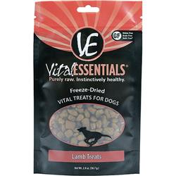 VITAL ESSENTIALS DOG FREEZE-DRIED TREAT LAMB 2OZ
