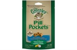 FELINE GREENIES PILL POCKETS TUNA & CHEESE 1.6OZ