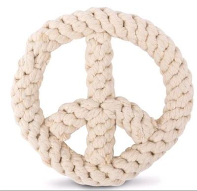 Peace On Earth Rope Toy
