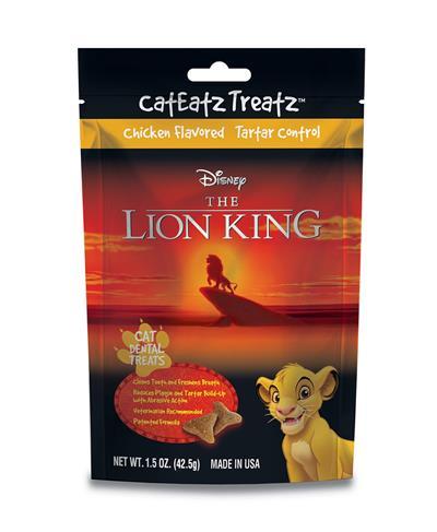 Disney Lion King Tartar Control Cat Treats by Team Treatz