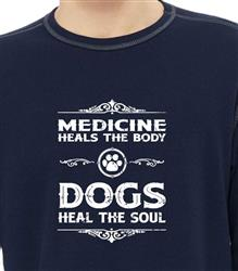 Dogs Heal the Soul Thermal Long Sleeve Shirt