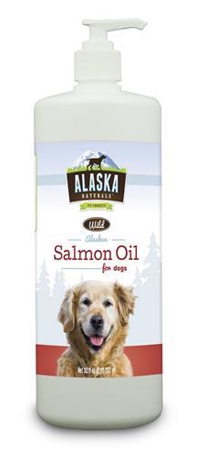 Alaska Naturals Wild Alaskan Salmon Oil for Dogs 32oz.