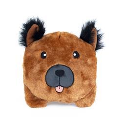 German Shepherd Squeakie Buns Toy