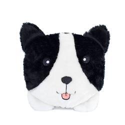 Border Collie Squeakie Buns Toy