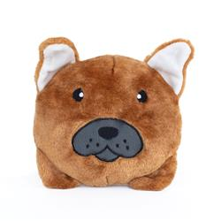 French Bulldog Squeakie Buns Toy