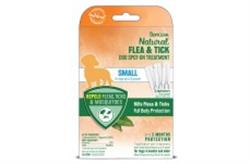 TROPICLEAN NATURAL FLEA & TICK SPOT ON TREATMENT SMALL DOG 3PK
