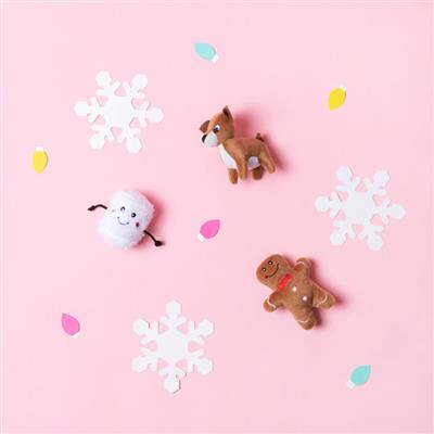 Holiday Miniz - Santa's Friends 3-Pack
