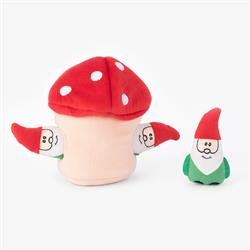 Holiday Burrow - Gnomes in Mushroom