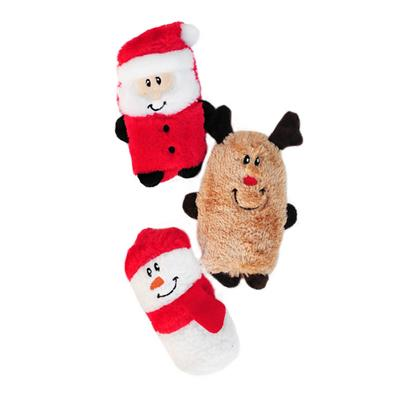 Holiday Squeakie Buddies - Pack of 3