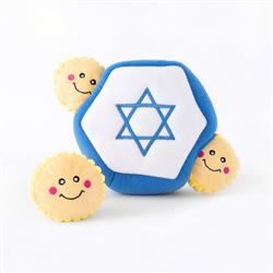 Hanukkah Zippy Burrow - Star of David