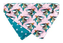 LL Cool Jaw$ - Reversible Collar Bandana with Studs