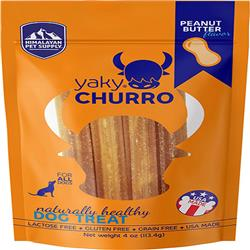 HIMALAYAN DOG YAKY CHURRO PEANUT BUTTER 4OZ