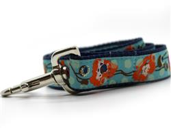 California Poppy Dog Leash